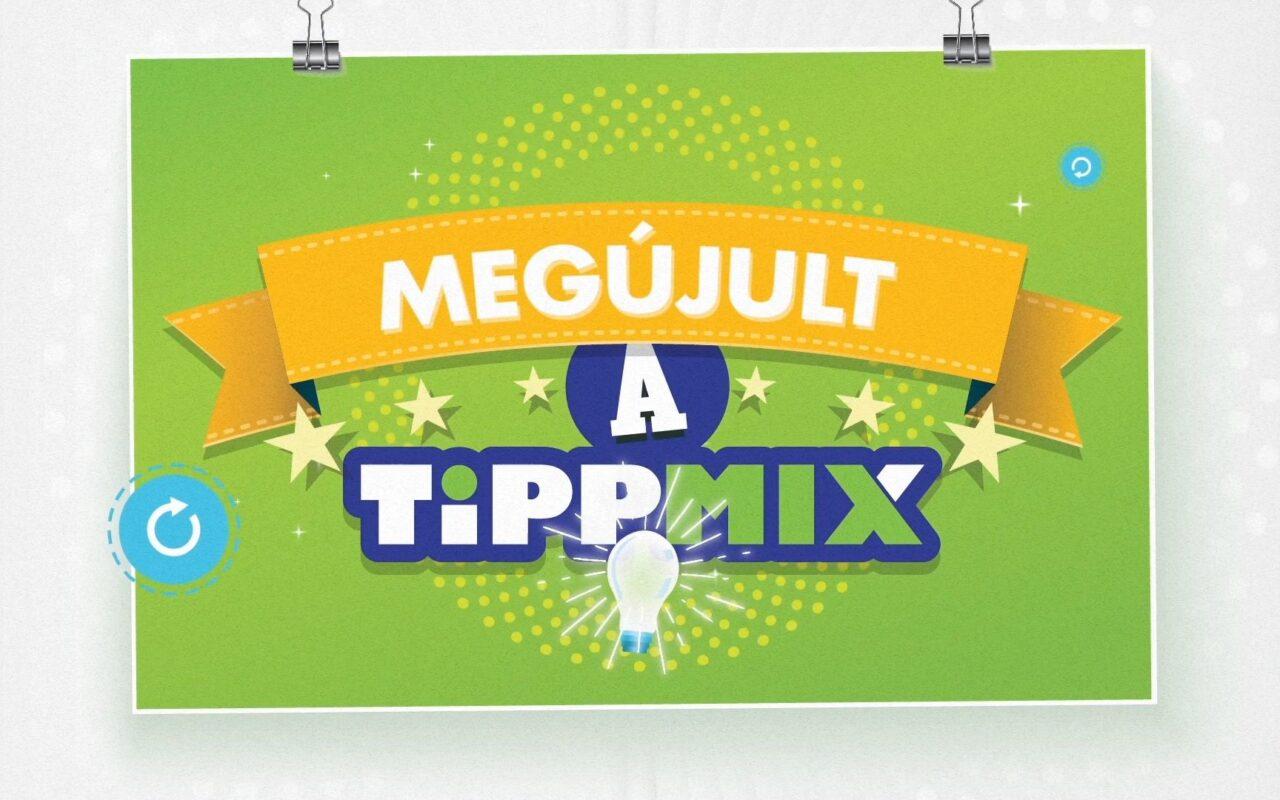 TIPPMIX Megújulás slide 1