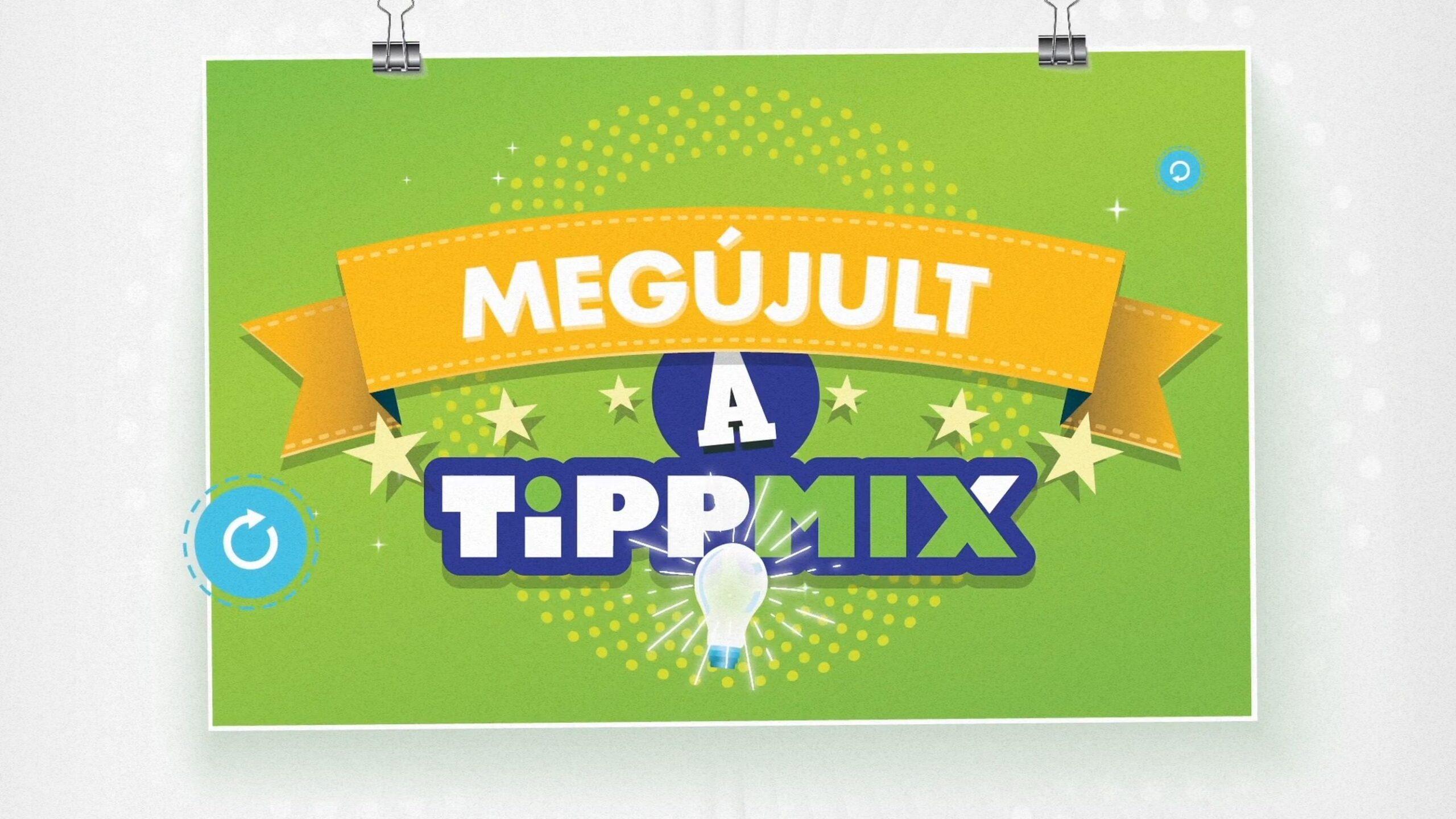 TIPPMIX Megújulás video 1 min